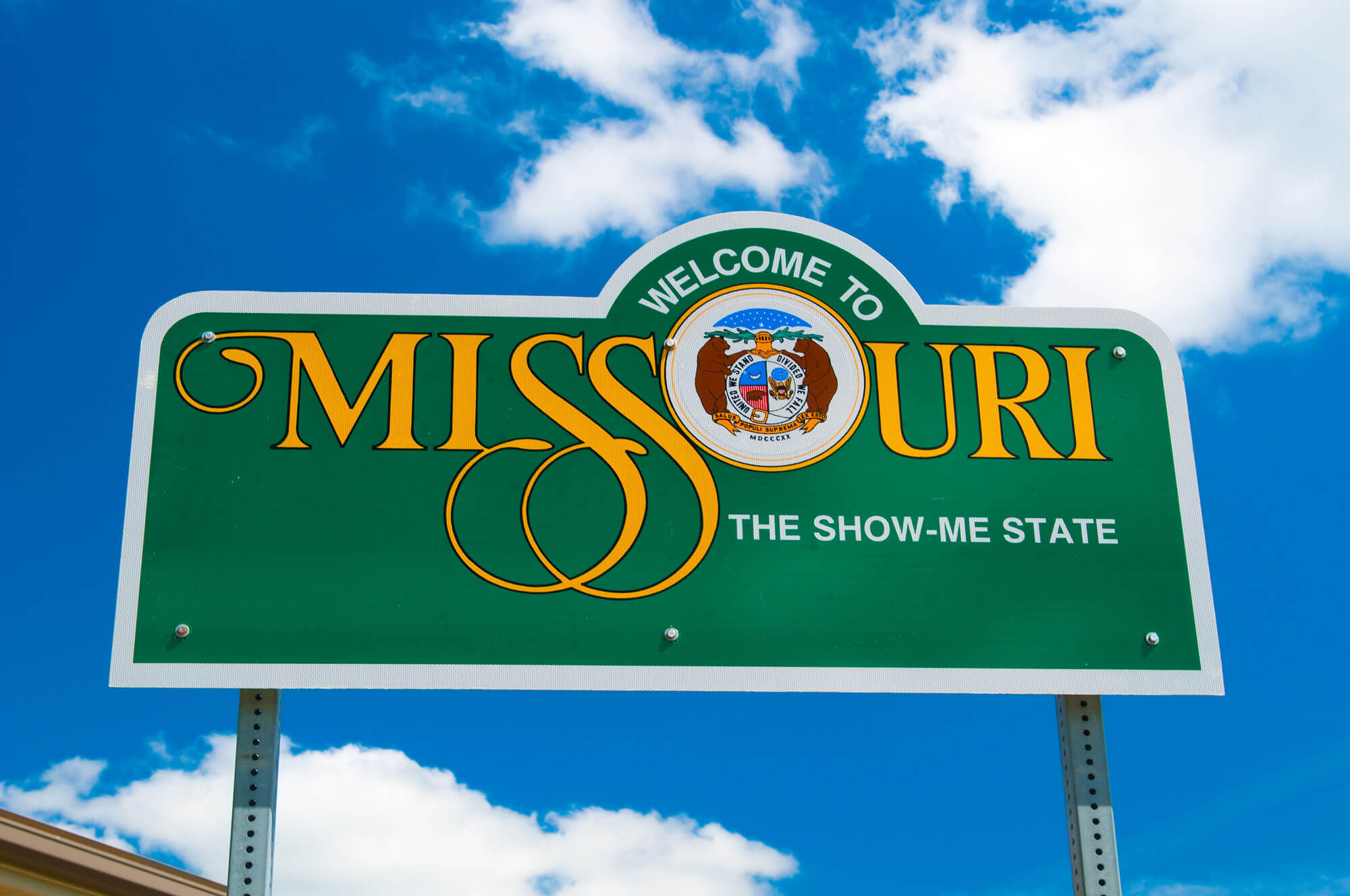A welcome sign ushering in the new business accelerator for rural Missouri entrepreneurs