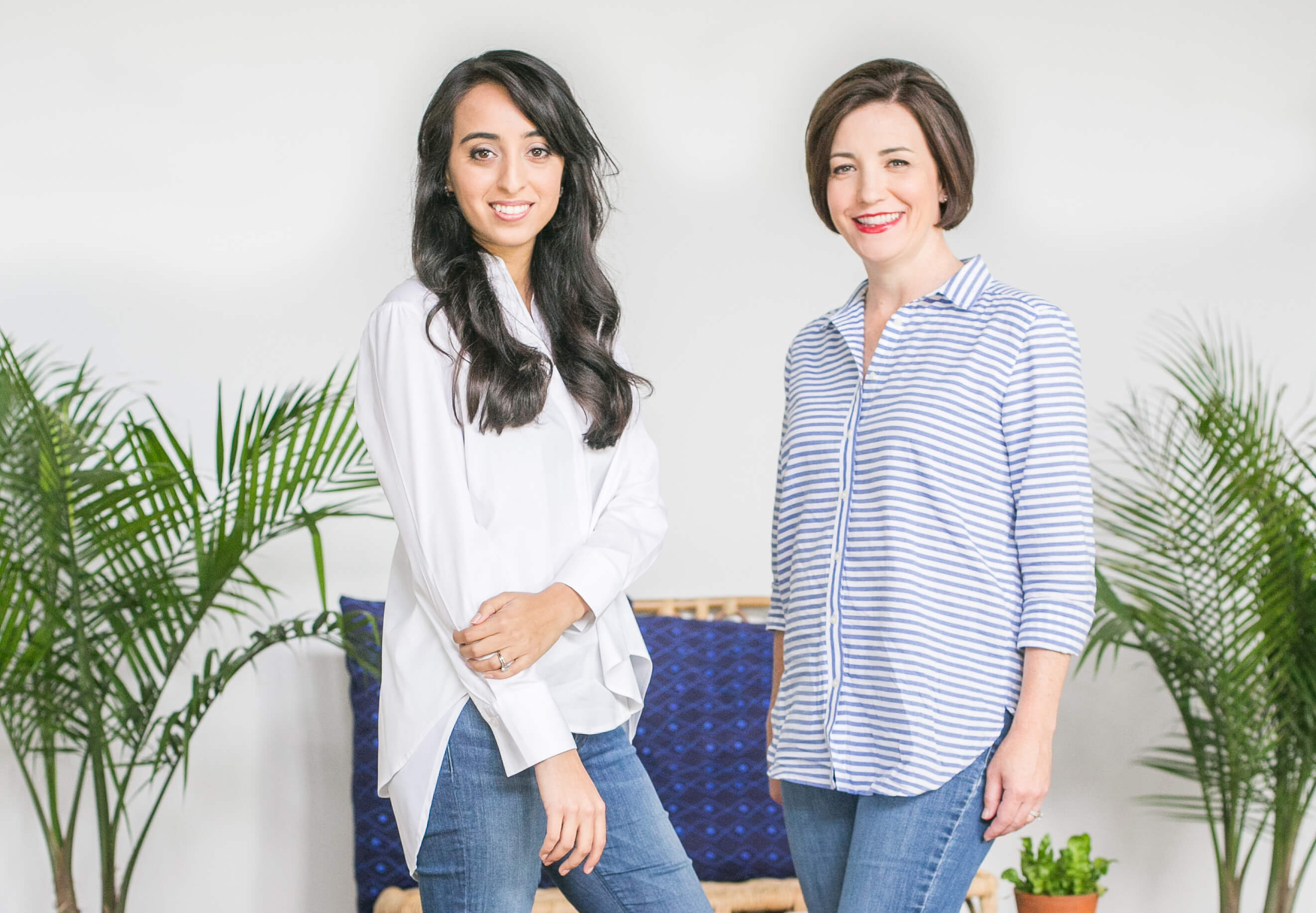 Founders Lori and Reshma of St. Louis, Missouri startup Summersalt