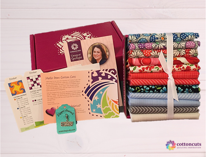 Subscription box Cotton Cuts founded by Kimberly Moos of Chesterfield, Missouri