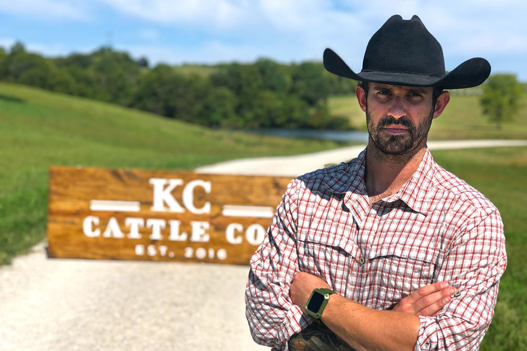 Patrick Montgomery of KC Cattle Company